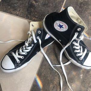 Converse all star high tops - black